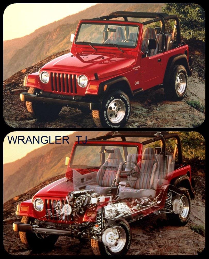 Особенности устройства Wrangler TJ