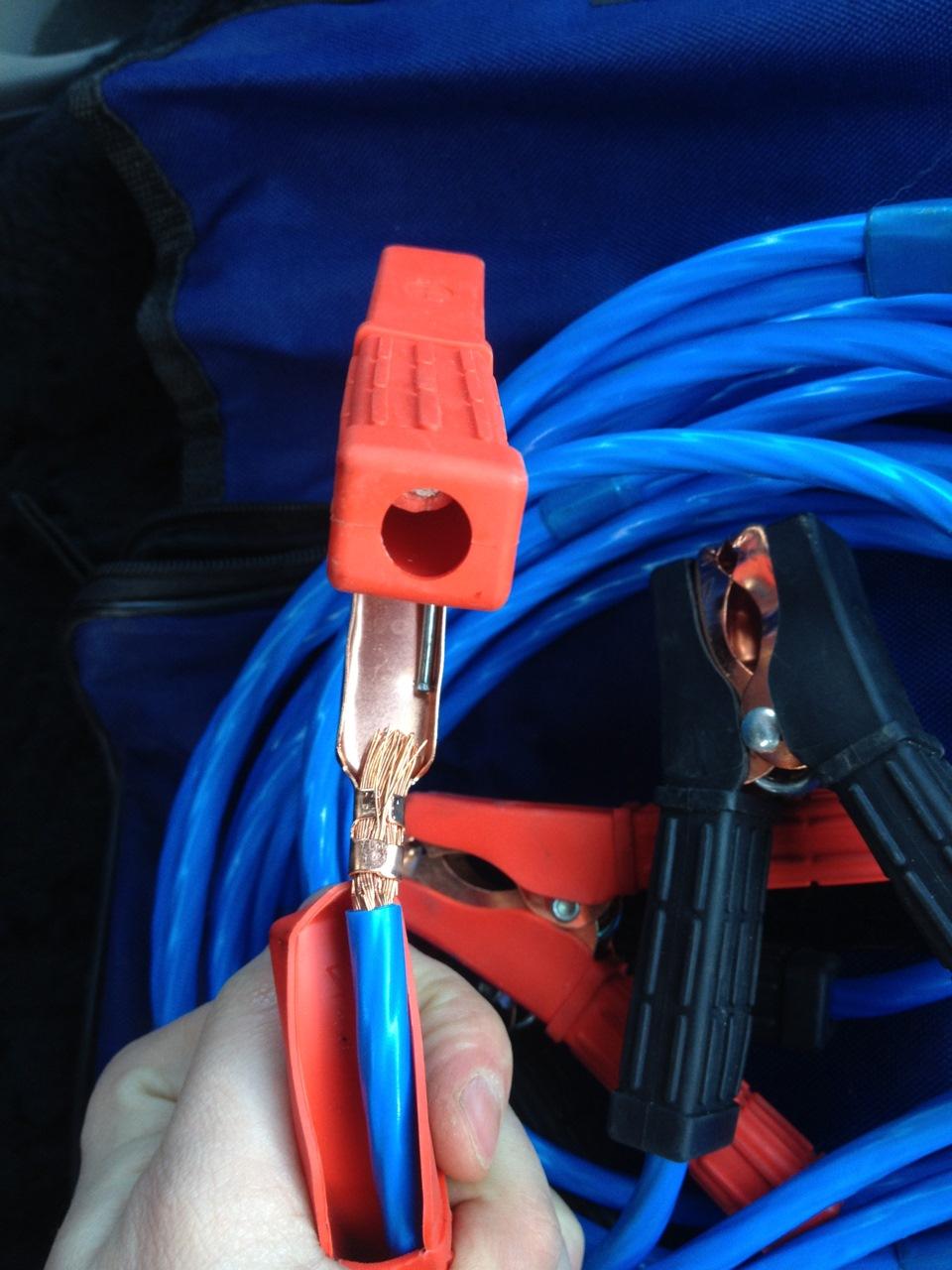 Провода для прикуривания как сделать 806