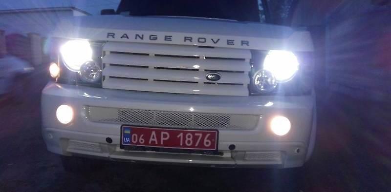 Get Rich or Die Tryin)))В Житомире переделали Range Rover 80-х