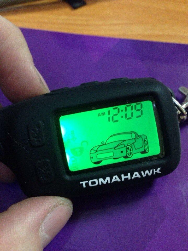 Tomahawk ремонт брелка