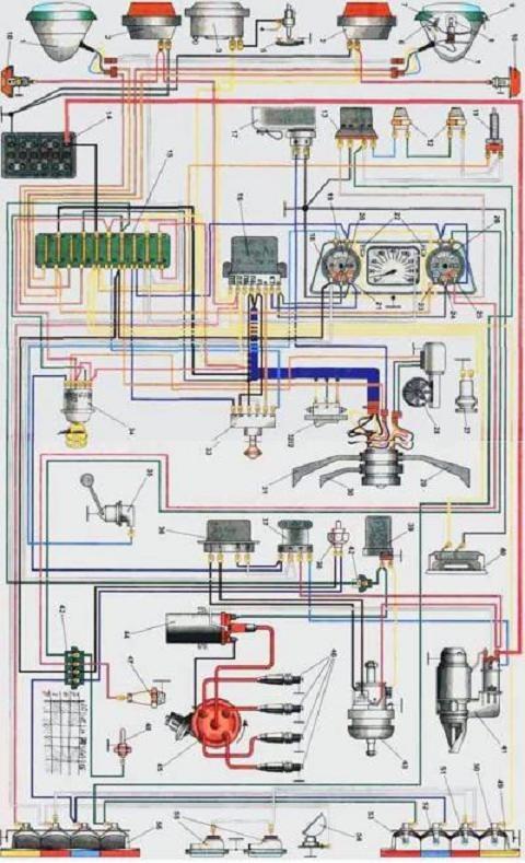Принципиальная схема беспроводной клавиатуры