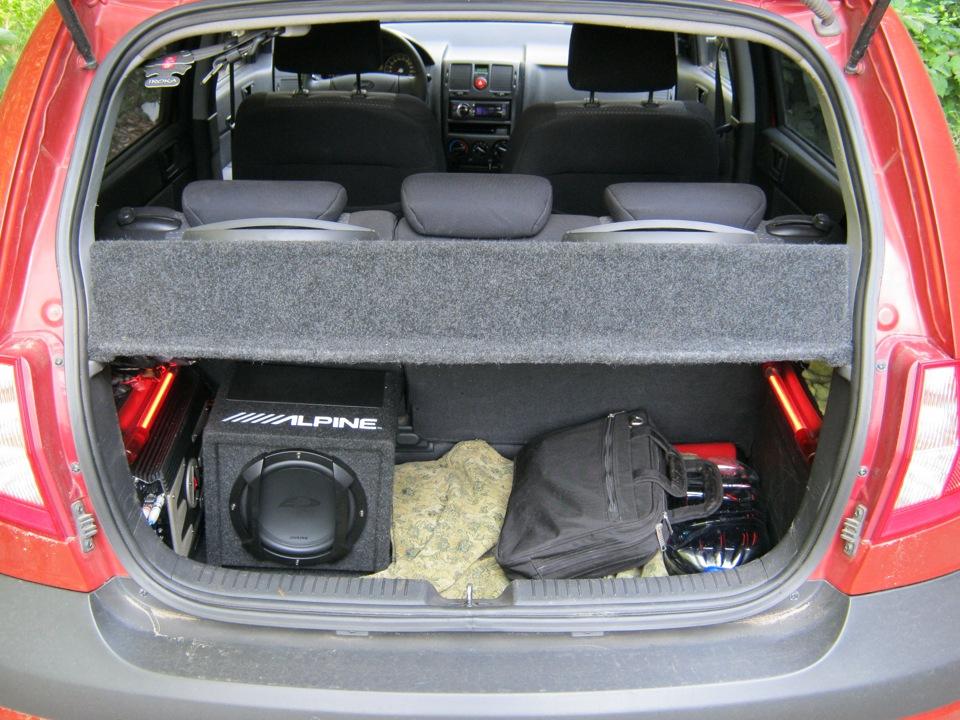 багажника хендай гетц