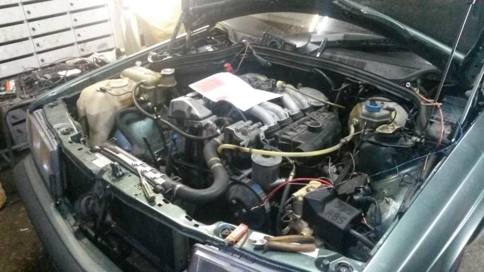 После замены ТНВД мотор начал