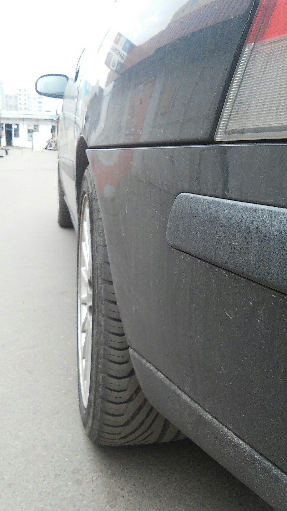 ограничители выворота колес на вольво s60