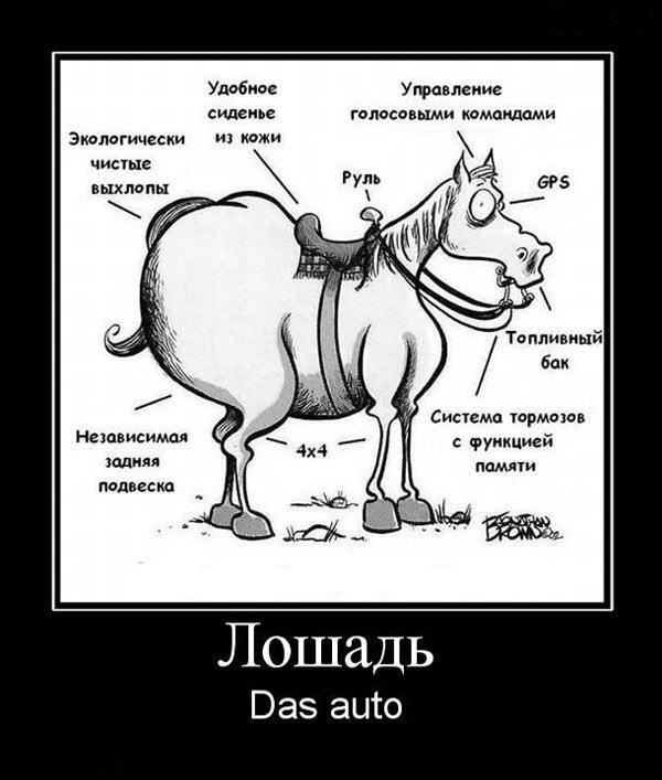 Ломовая лошадь демотиватор