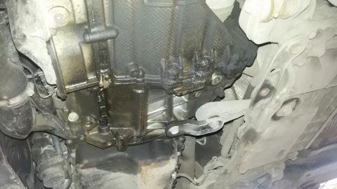 Замена масла в двигателе шкода октавия а5 16 mpi своими руками 51