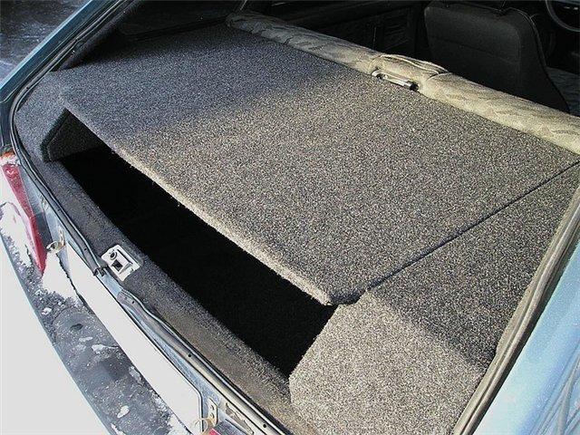 Тюнинг багажника ваз 2109 в домашних условиях фото