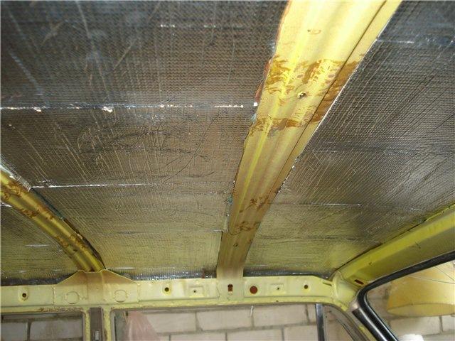 Потолок ваз 2101