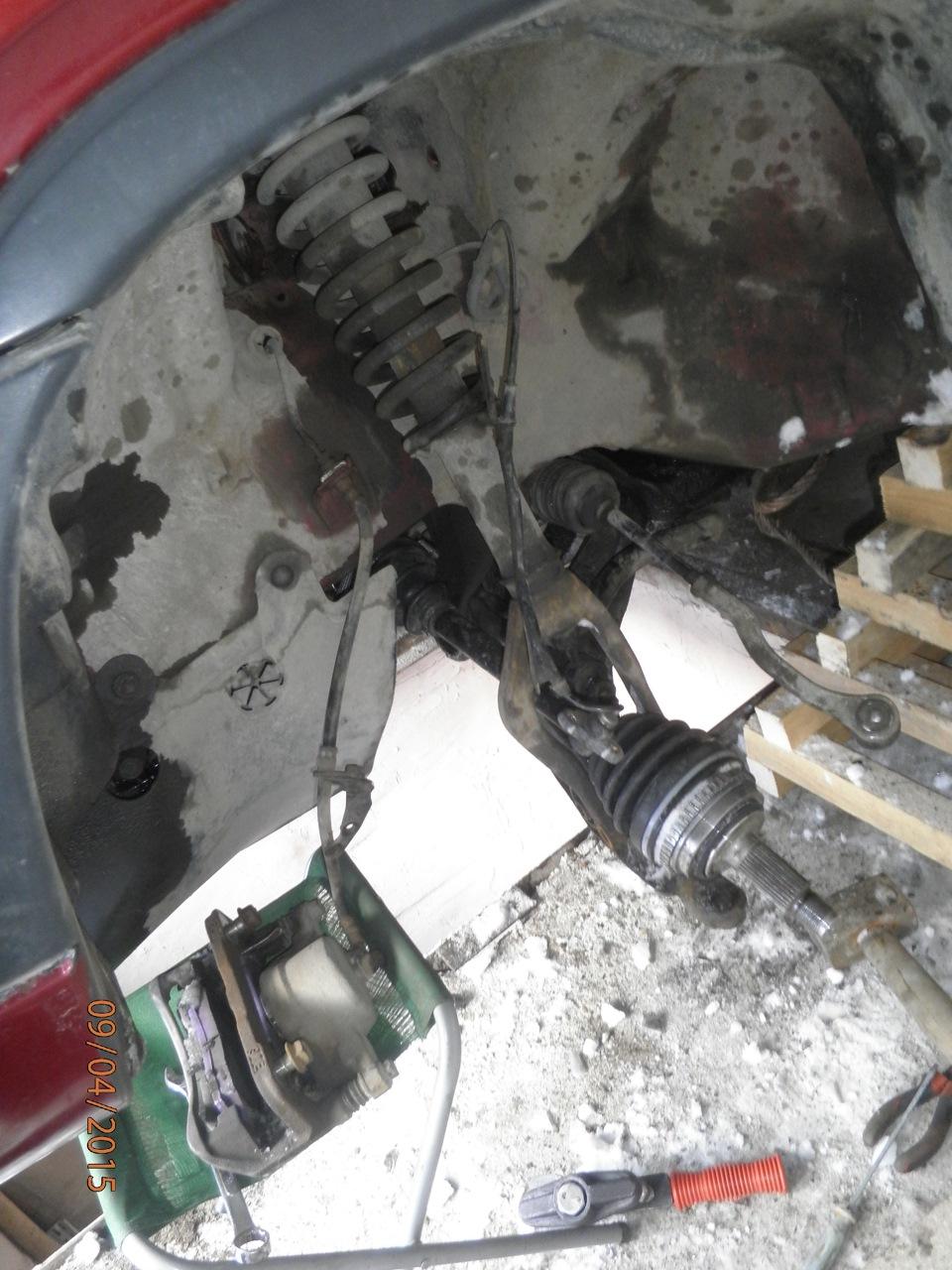 Ремонт подвески хонда срв 1 своими руками 6