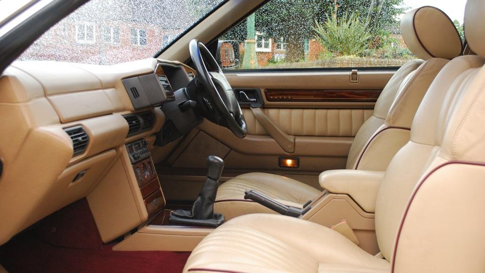 rover 800 interior