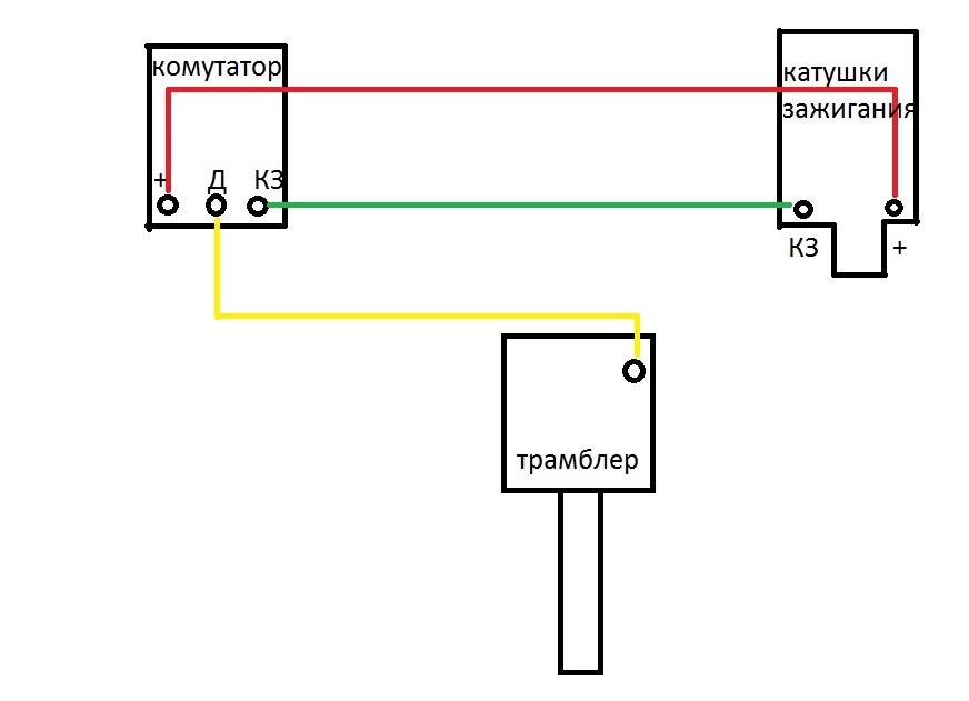 Уаз схема подключения бесконтактного зажигания