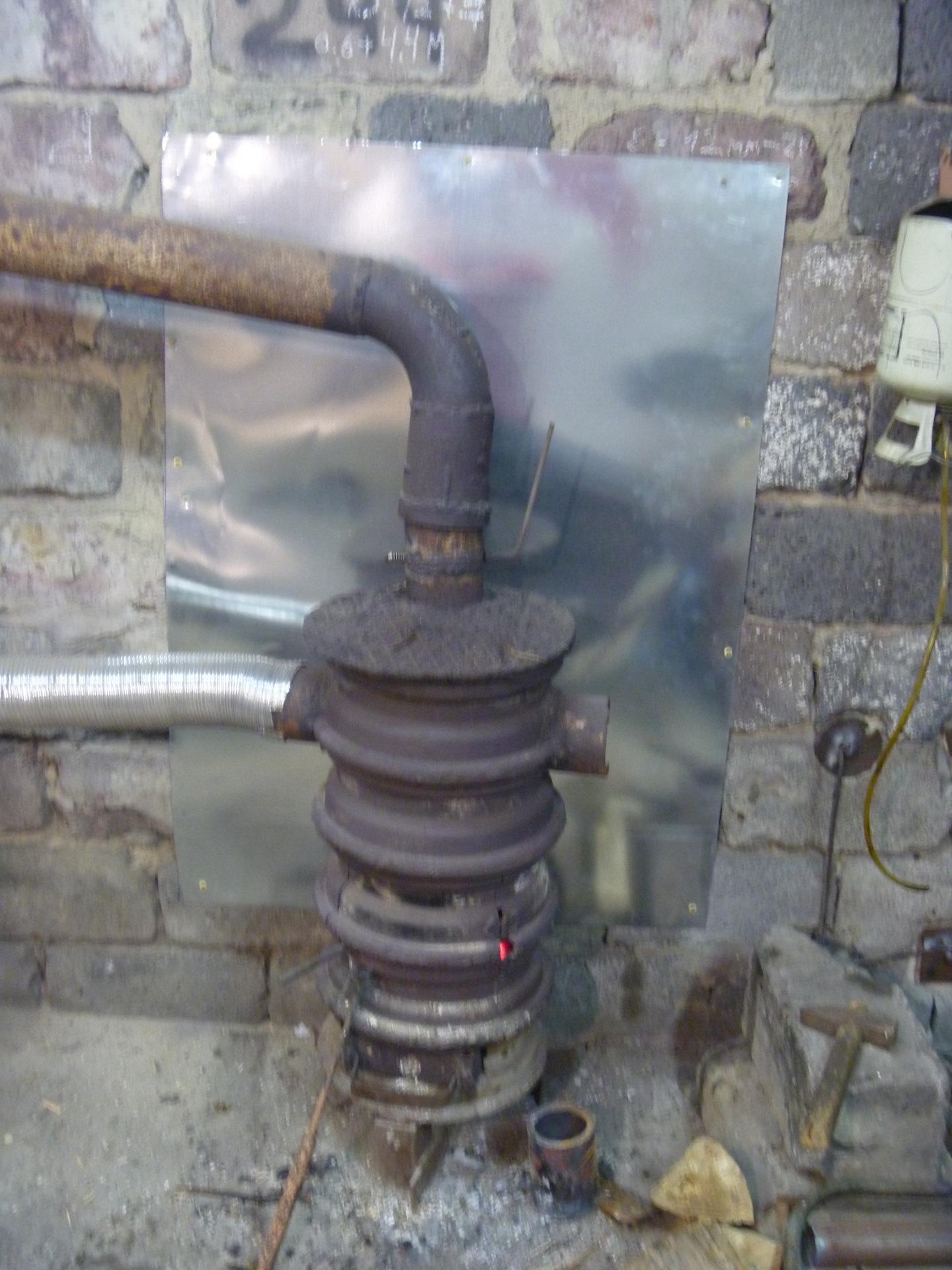 Гаражные дымоходы форма ф15 на дымоход