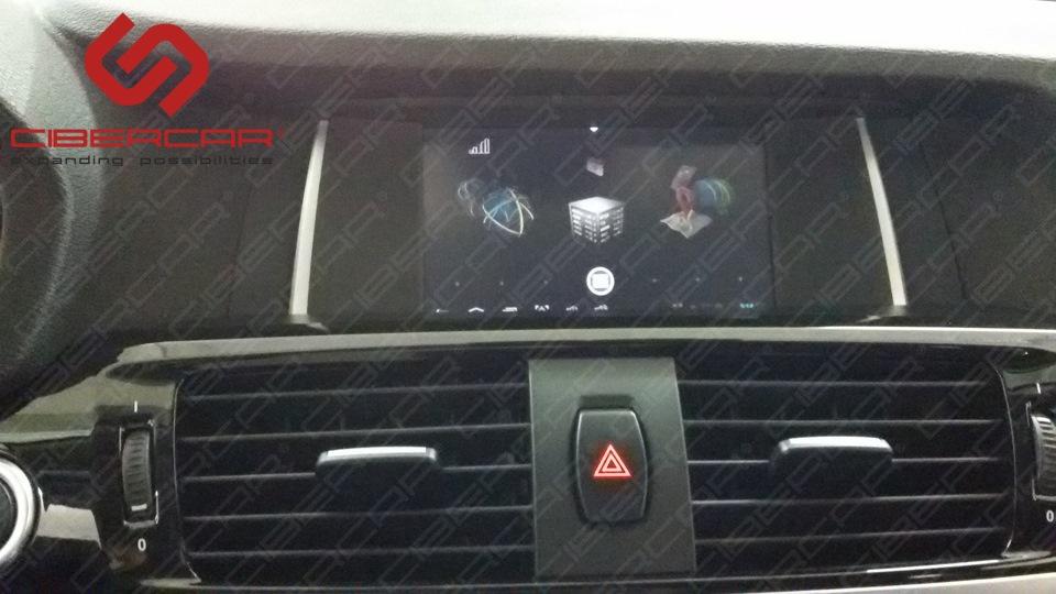 В конечном итоге получаем навигационный блок на базе ОС Android на штатном экране с сенсорным управлением.
