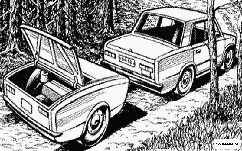 Прицеп к легковому автомобилю