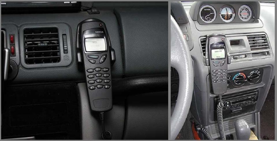 Nokia 6090 в Уаз Patriot и