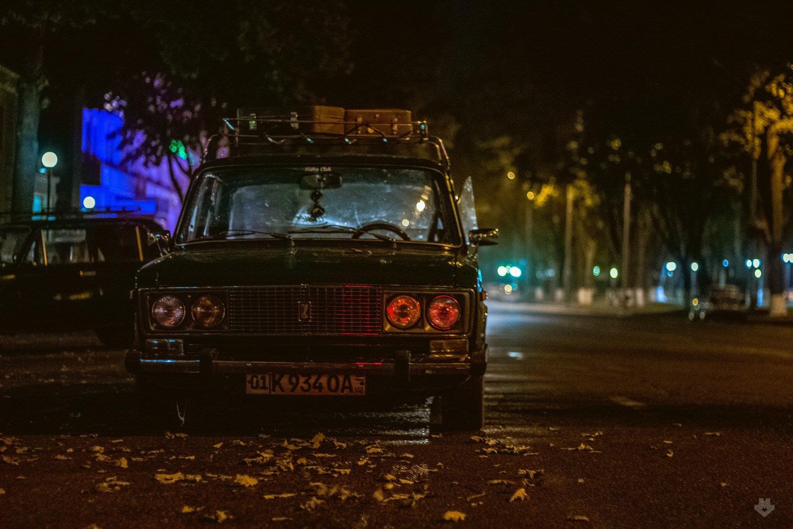 картинки авто ваз ночь природой каменный