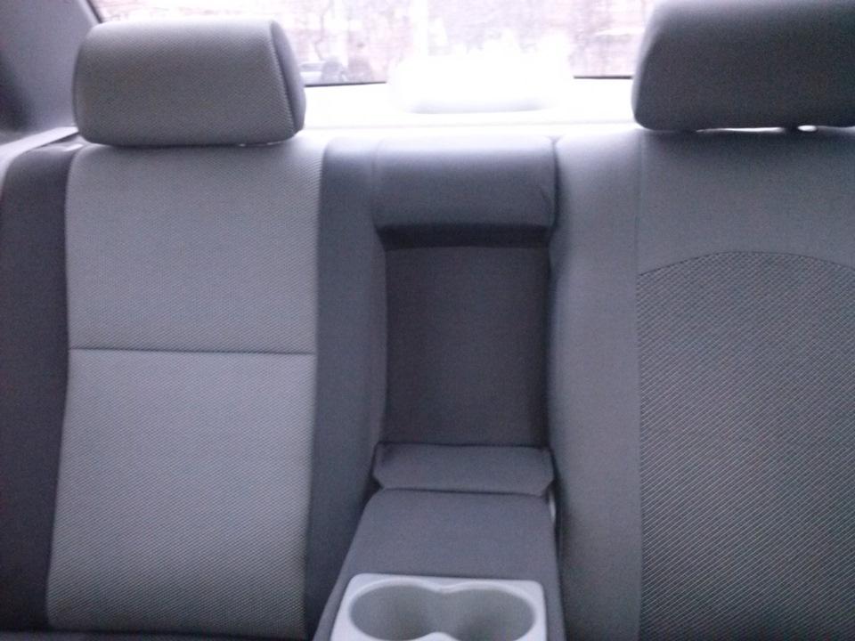 Подлокотник заднего сидения своими руками