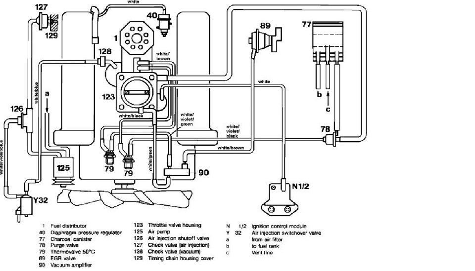 вакуумные трубки мерседес m112
