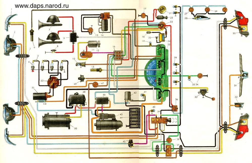 Газ 31029 схема электрооборудования фото 300