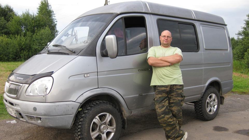 ГАЗ Соболь 27527 4х4 Сильвер