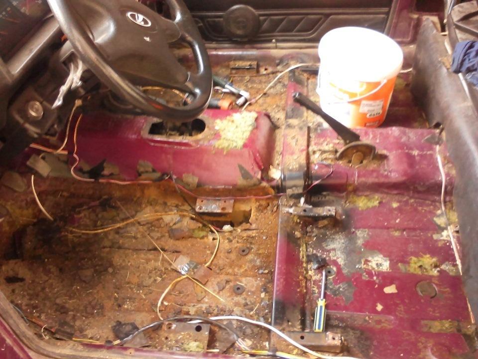 Кузовной ремонт 21213 своими руками 66