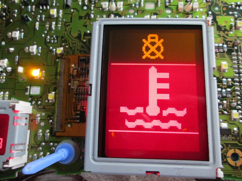 Замена Экрана приборной панели VDO