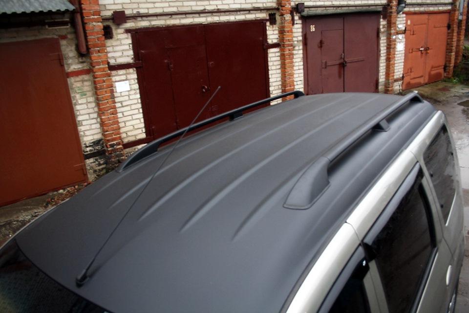 Как сделать черную крышу на авто цена