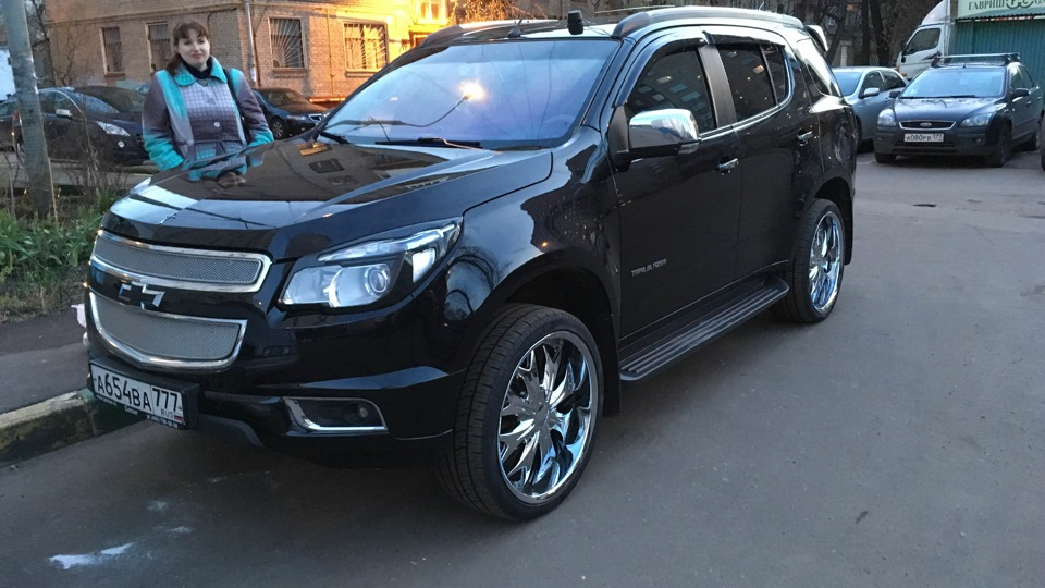 chevrolet trailblazer в genser
