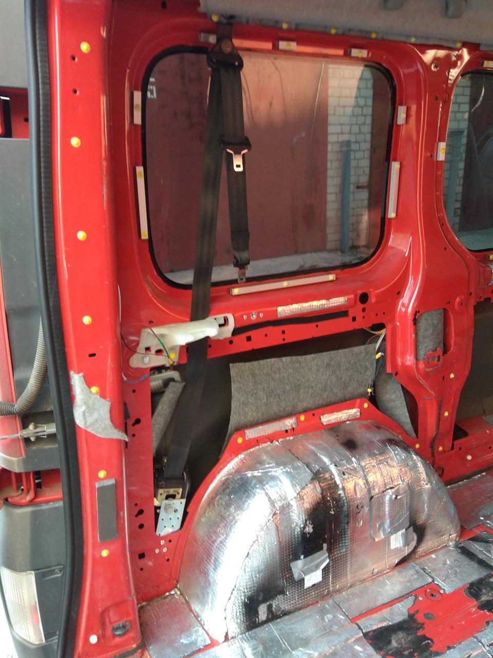 Задні ремені безпеки - кріплення котушки - ЯК? - Пост 435491 - Фото 1