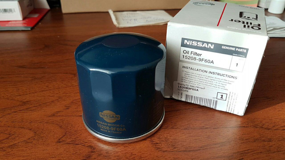 ниссан н15 какой масляный фильтр