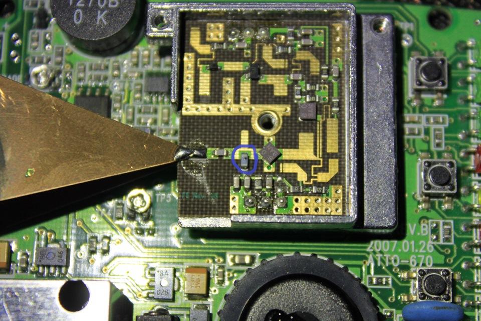 схема на радар детектор