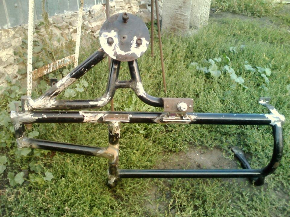 Кронштейн запасного колеса сделать