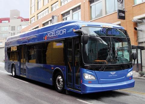 Автобусы на природном газе в Америке  — Элитгаз на DRIVE2