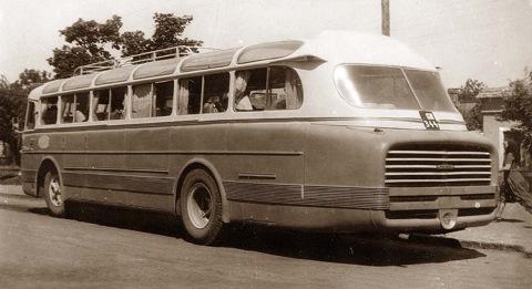Корма Ikarus 55 ранних лет выпуска