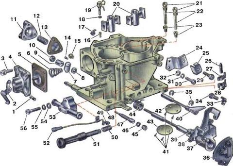 Как настроить карбюратор в ваз 2108