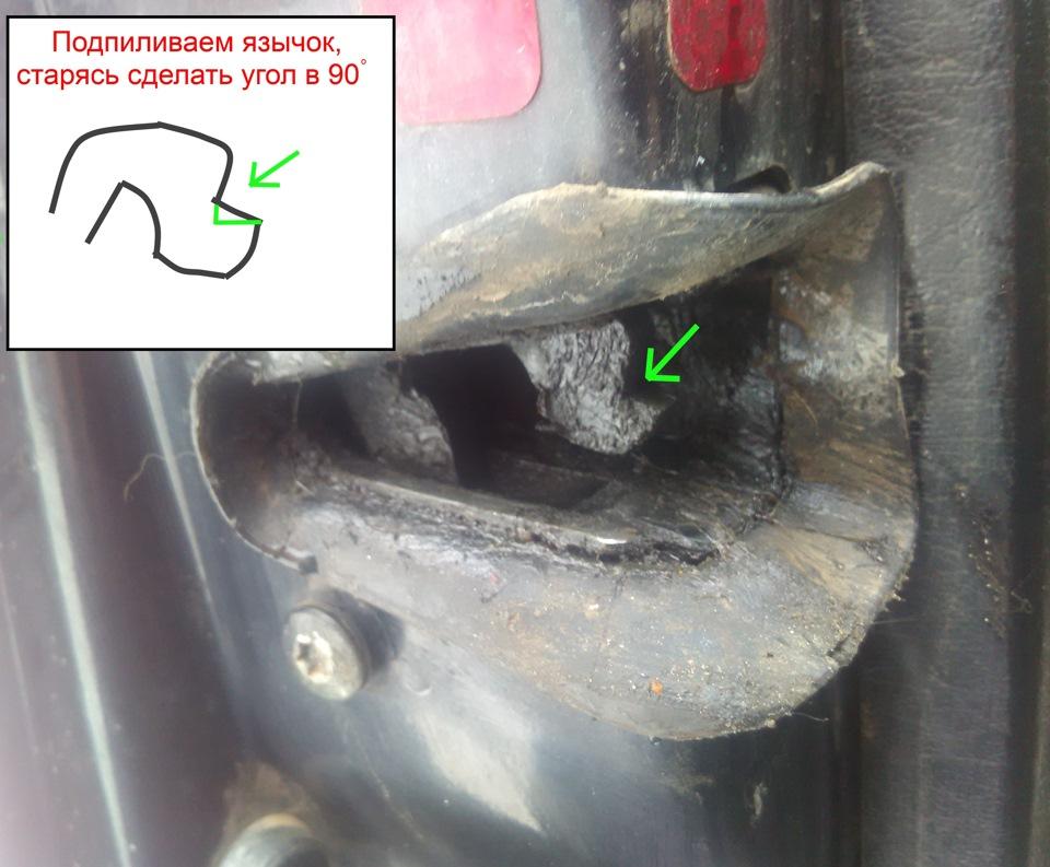 audi a6 c4 ремонт замка двери
