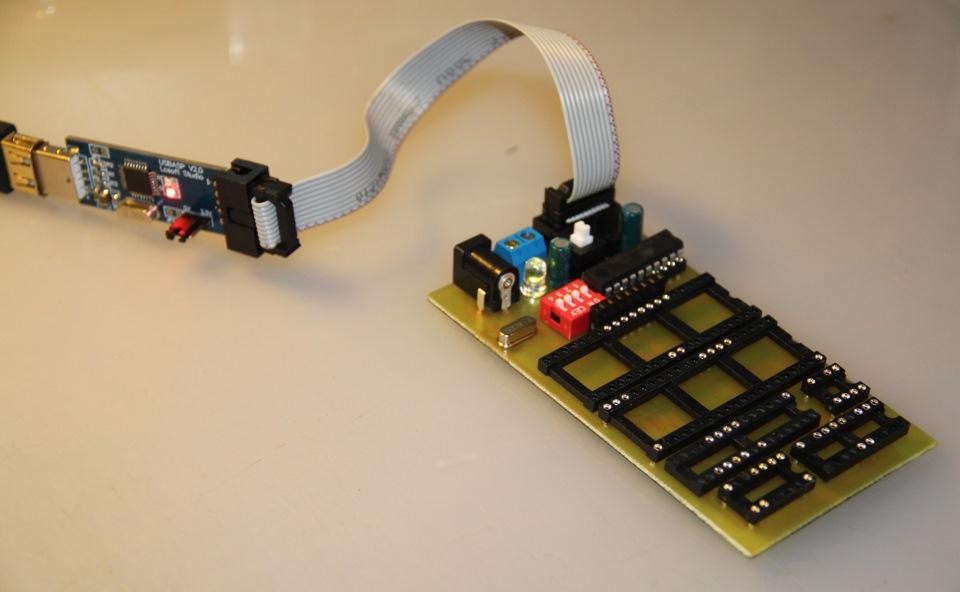 Arduino-based AVR High Voltage Programmer