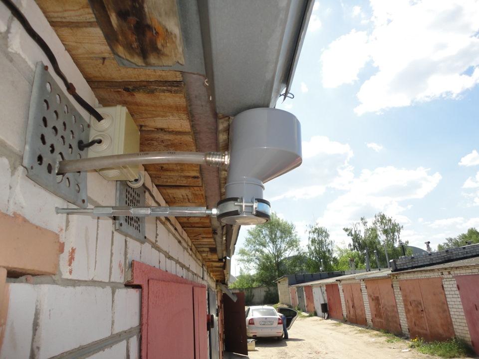 Как сделать воду в гараж 479