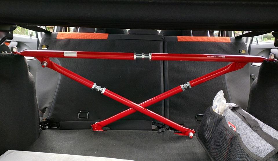 Цветное железо (распорка Техномастер, усилитель кузова Автопродукт) - бортжурнал Лада Калина Кросс Touring 2015 года на DRIVE2