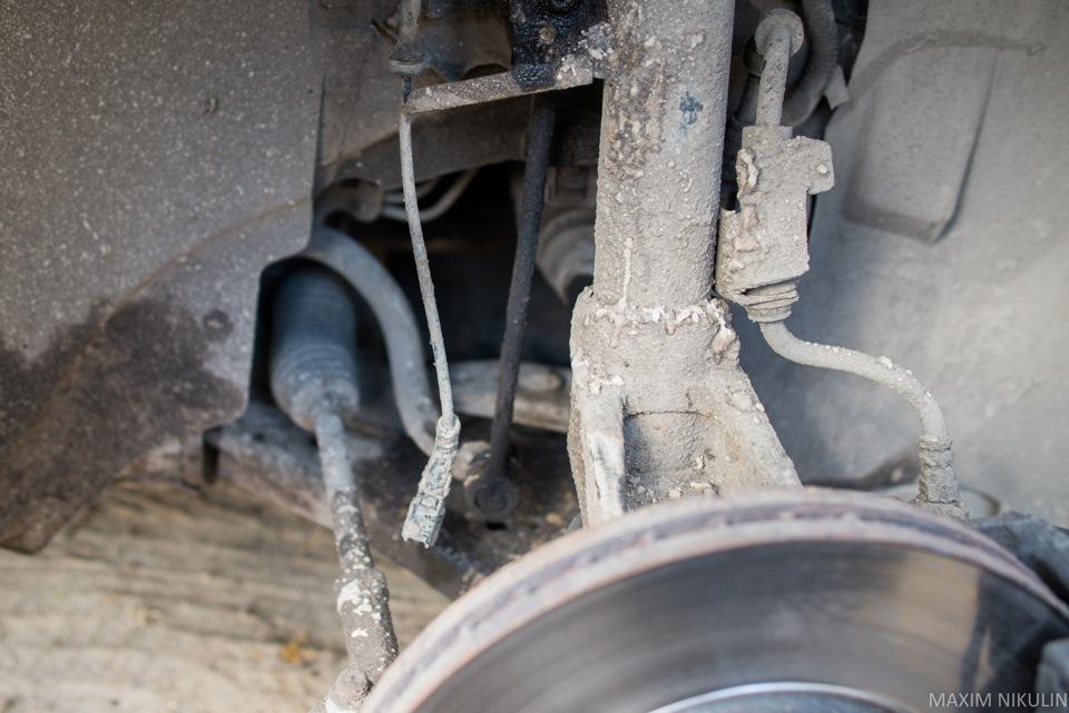 замена передних стоек на ford s-max