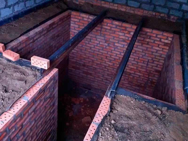Подвал и смотровая яма в гараже размеры