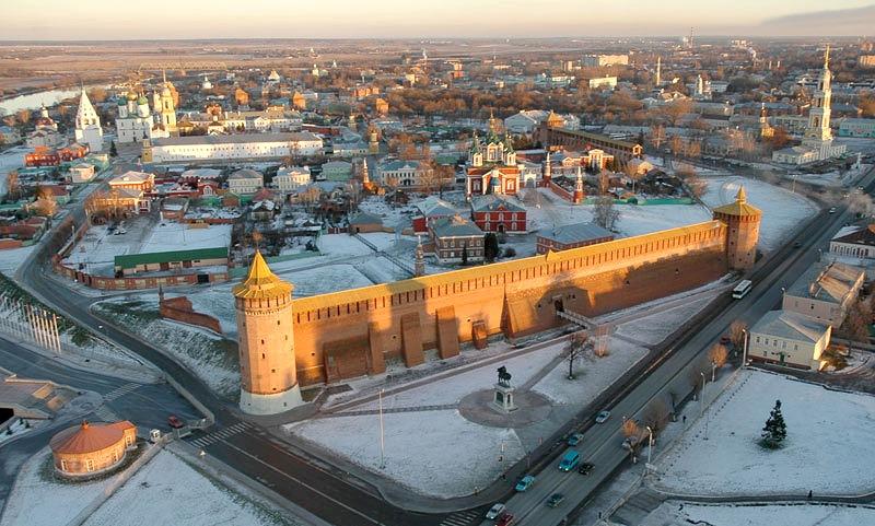 Достопримечательности Коломны: Коломенский кремль