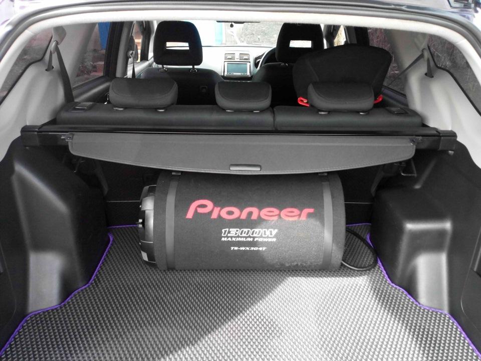 шторка багажника honda airwave