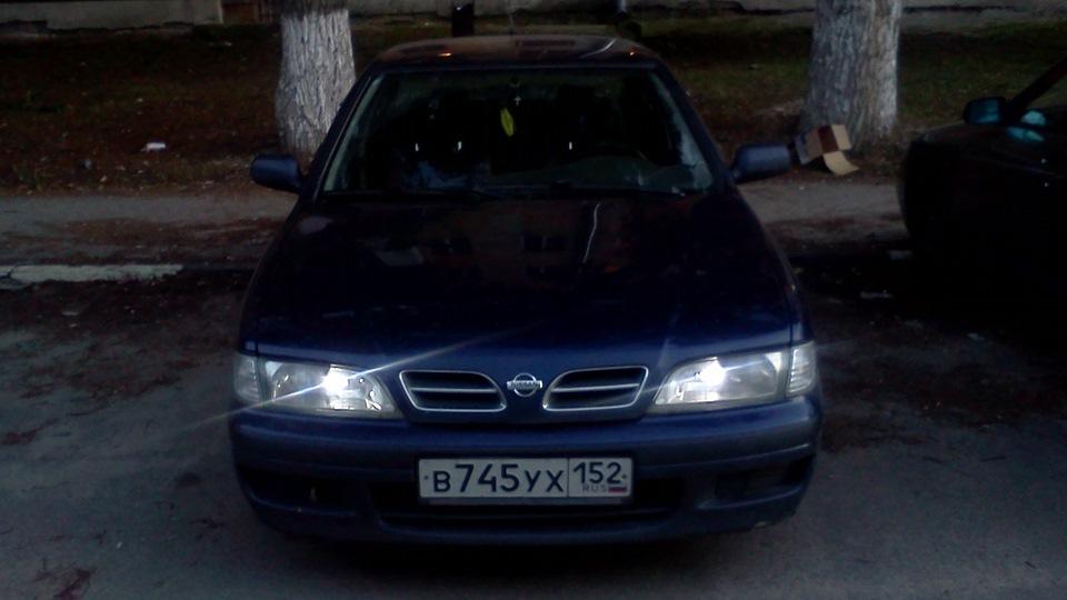 nissan primera p11 1997 1.6 90 лс