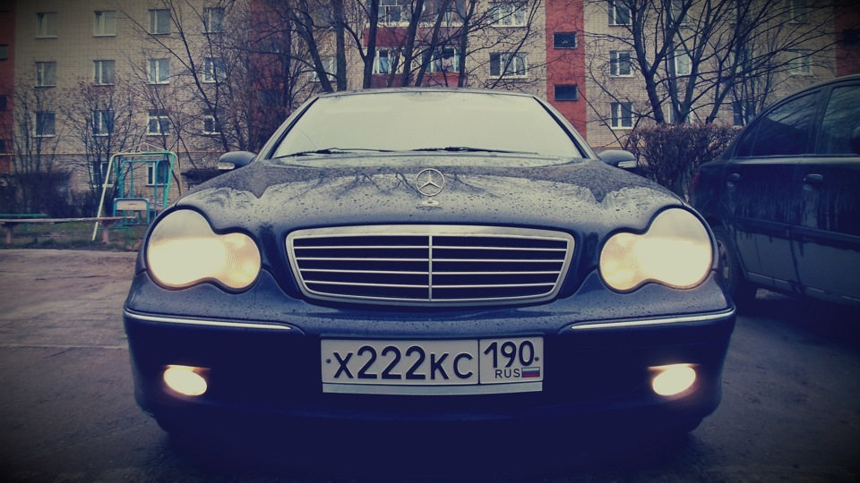 Mercedes-Benz C-class Ultraviolet Supercharger | DRIVE2