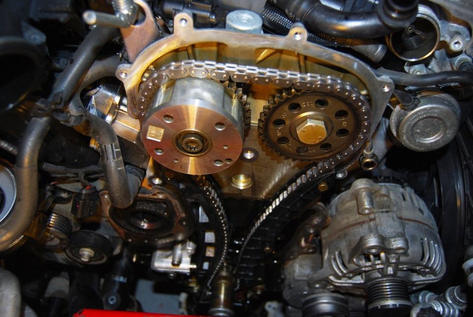 Замена цепи ГРМ на двигателе Volkswagen Group 1.4 TSI ...