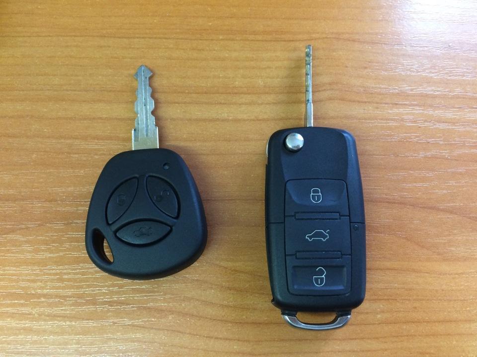 Программирование кнопок ключа