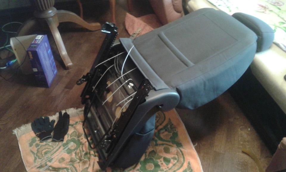 Ремонт обогрев сидений своими руками фото 234