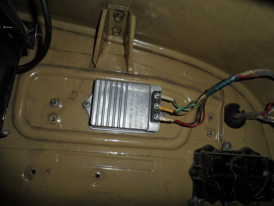 Ремонт электронного коммутатора системы зажигания 13 3734-o1.