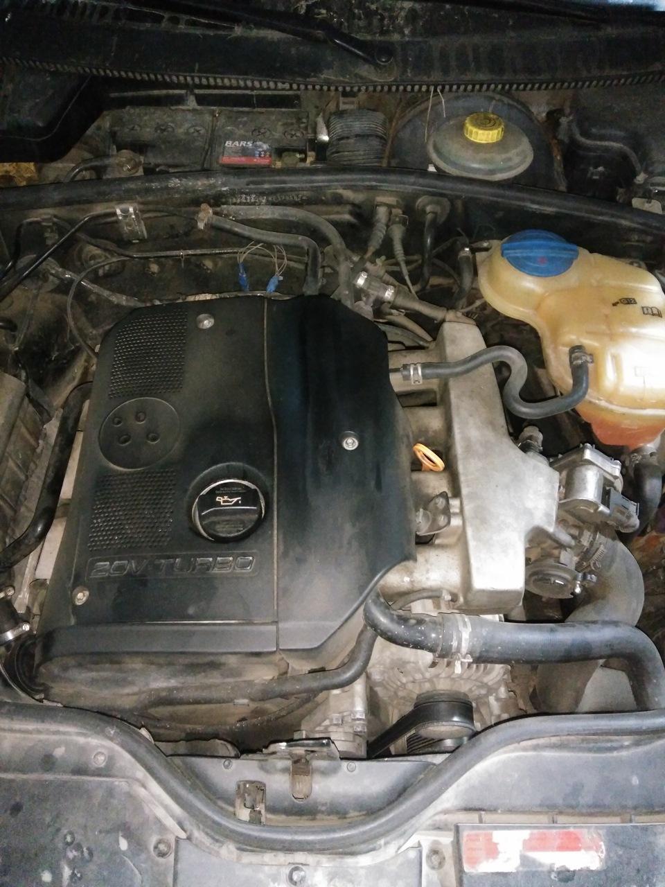 замена маслосъемных колпачков двигатель skoda 1.8t